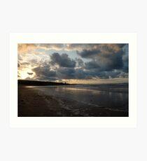 Northumberland Beach Art Print