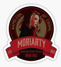 Brownstone Brewery: Jamie Moriarty Irish Red Sticker