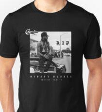 Camiseta ajustada Nipsey Hussle, RIP Nipsey Hussle, Crenshaw, EL MARATÓN CONTINÚA