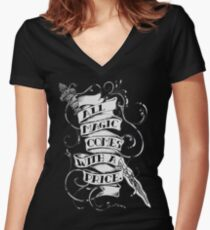 Once Upon a Time Merchandise Women's Fitted V-Neck T-Shirt