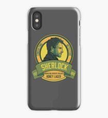 Brownstone Brewery: Sherlock Holmes Honey Lager iPhone Case