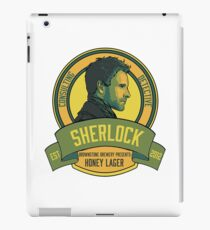 Brownstone Brewery: Sherlock Holmes Honey Lager iPad Case/Skin