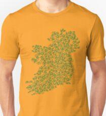 map of ireland by bike Unisex T-Shirt