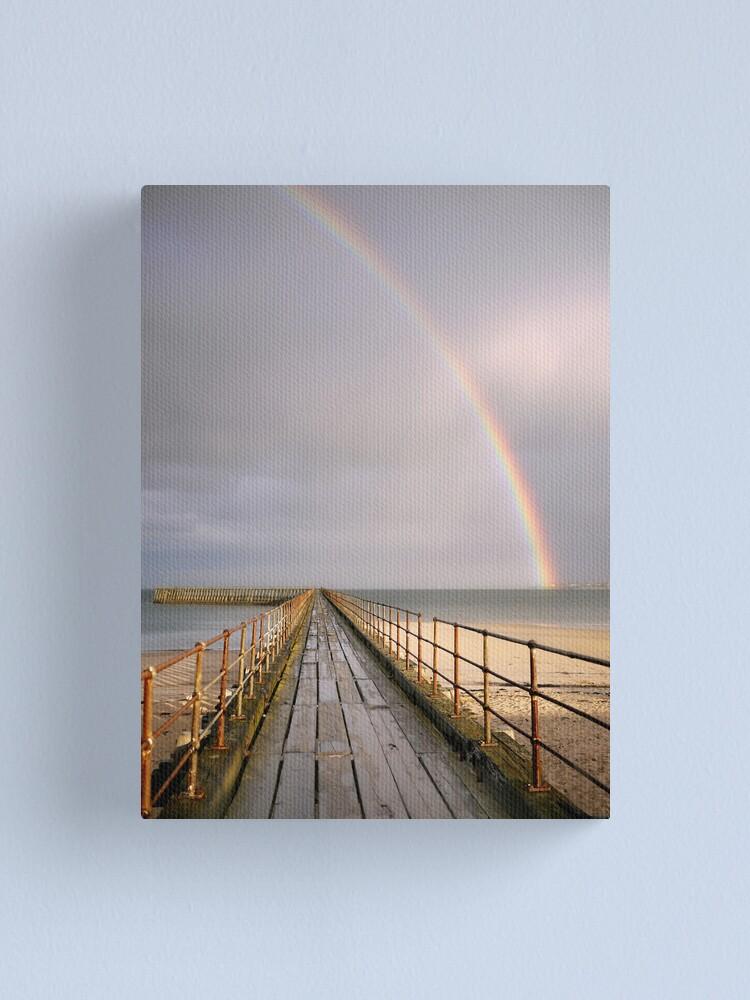 Alternate view of rainbow Canvas Print