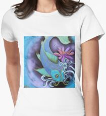 Dragon Fish Women's Fitted T-Shirt