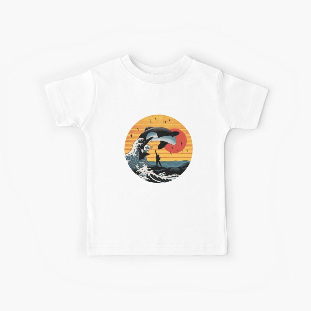 Der große Killerwal Kinder T-Shirt