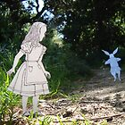 Alice and the White Rabbit by SusanSanford