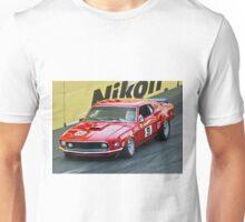 Allan Moffat - Trans Am Mustang Unisex T-Shirt