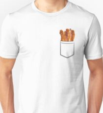 Camiseta ajustada Bolsillo de tocino