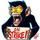 Monkey on Strike Fanart by ICMZ by monkeyonstrike