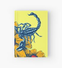Scorpion Flowers Hardcover Journal