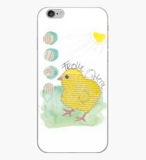 Frohe Ostern: Küken unter der Frühlingssonne iPhone-Hülle & Cover
