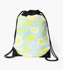 Lemon Fresh Drawstring Bag