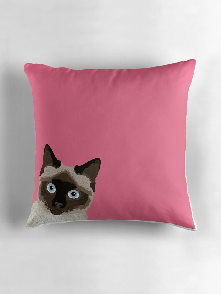 """""""Peeking Siamese Cat - Funny cat meme for cat lovers, cat ..."""