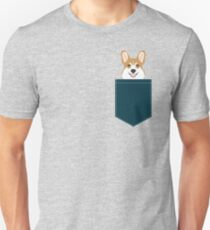 Teagan - Corgi Welsh Corgi gift phone case design for pet lovers and dog people Unisex T-Shirt