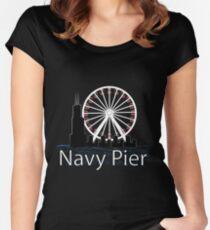 Navy PIer Women's Fitted Scoop T-Shirt
