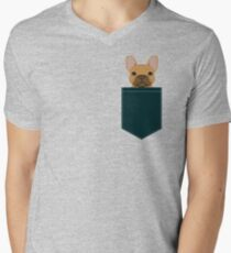 Willow - French Bulldog phone case art design for dog lovers and dog people Men's V-Neck T-Shirt