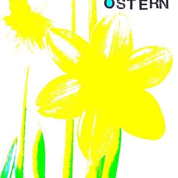 Frohe Ostern: Osterglocke von AngelArt444