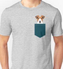 Bailey - Jack Russell Terrier phone case art print gift for dog people Jack Russell Terrier owners Unisex T-Shirt