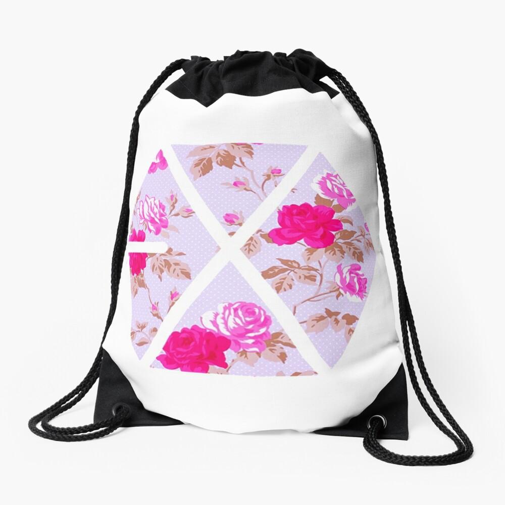 EXO - Blumen Turnbeutel