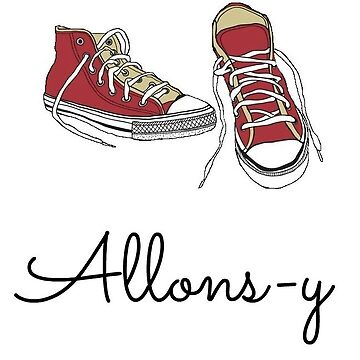 """Allons-y"" + signature shoes by AlexandraSchuhe"
