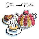 Tea and Cake by wonder-webb