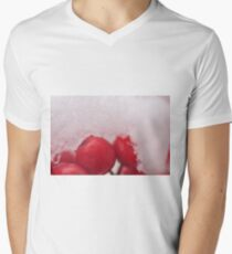 Berries in the Snow, As Is Men's V-Neck T-Shirt