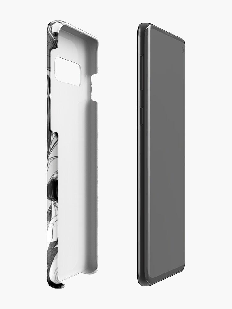 Alternate view of Komi, the Silent Goddess Case & Skin for Samsung Galaxy