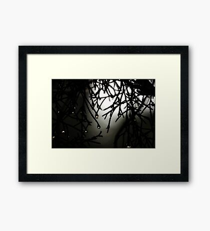 After the Eruption Framed Print