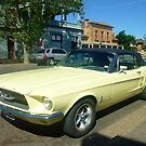 Yellow Convertible by EdsMum