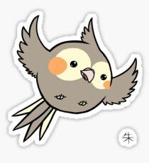 Cinnamon Pearl Cockatiel Sticker