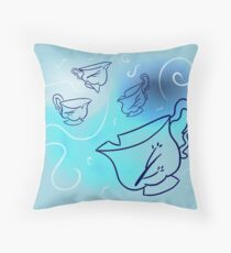 Elegant Chipped Cup Throw Pillow