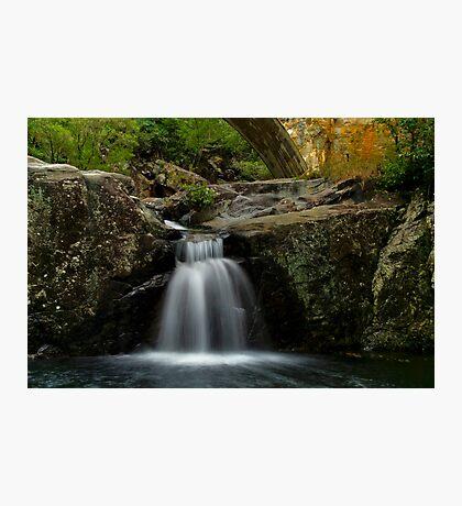 Crystal Creek Falls - Below the bridge - Paluma Range Photographic Print