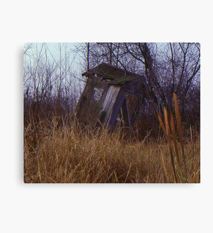Abandoned Out House Canvas Print