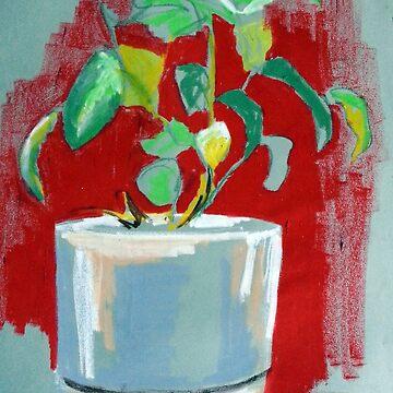 Plant Oil Pastel by joannaalmasude