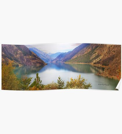 Seton Lake, British Columbia, Panorama Poster