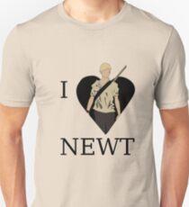 I Love Newt Unisex T-Shirt