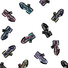 Fluevog Aimee -- all colorways by anne m bray