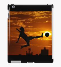 sports statue in city iPad Case/Skin