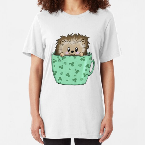 Hedgehog in a cup Slim Fit T-Shirt