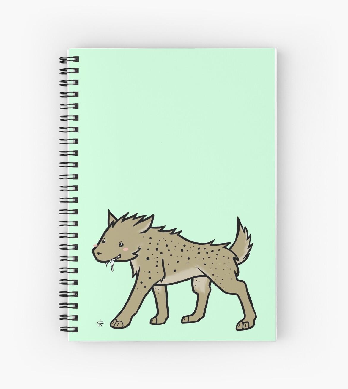 Spotted Hyena by Shukura