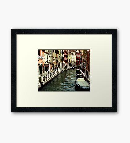 Hotel Gardena - Venice Framed Print