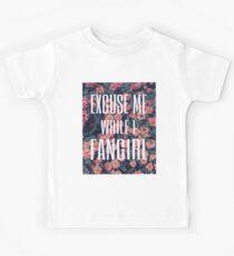'Scuse Me While I Fangirl Kids Clothes