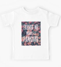 'Scuse Me While I Fangirl Kids Tee