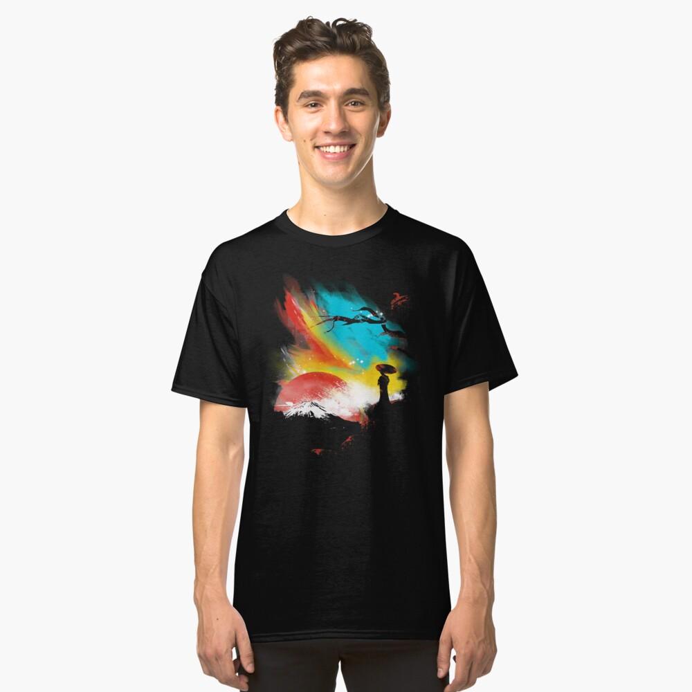 sunset on mount Fuji Classic T-Shirt