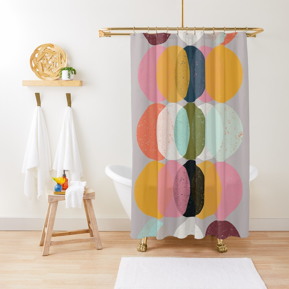 Moods & Moons Shower Curtain