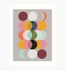 Moods & Moons Art Print