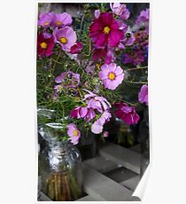 Jar of Flowers Poster