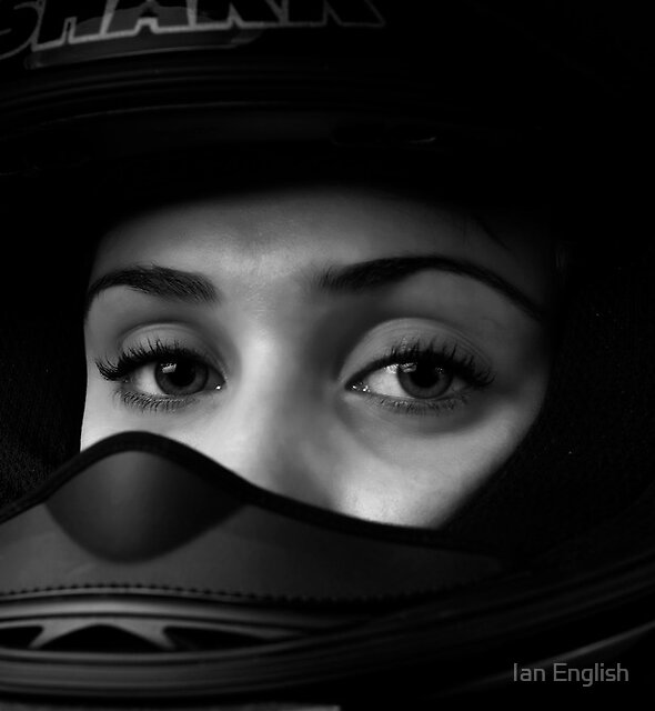 Bikie Girl by Ian English