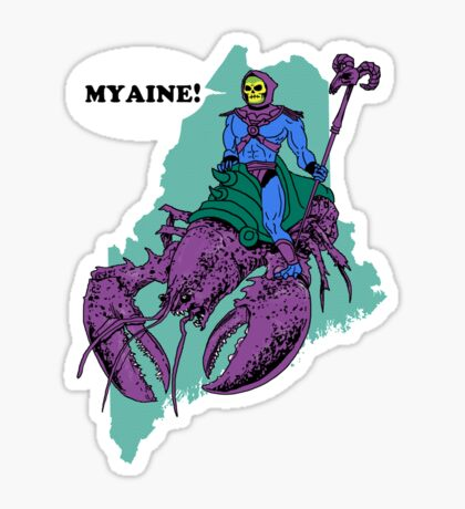 Myaine! Sticker